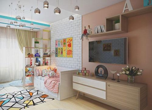 детская зона в однокомнатной квартире своими руками 3