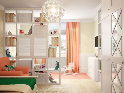 детская зона в однокомнатной квартире фото 9