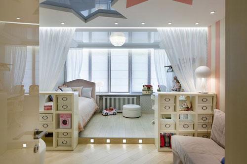 детская зона в однокомнатной квартире фото 6