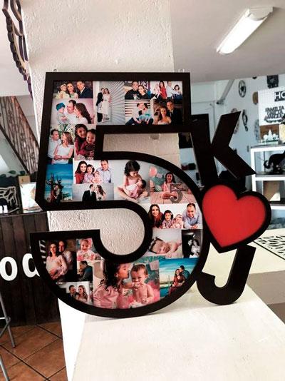 украшение комнаты на день рождения ребенка 5 лет цифрой