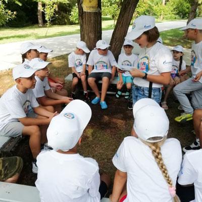 Детское радио открыло выездную студию в «Орленке» 2