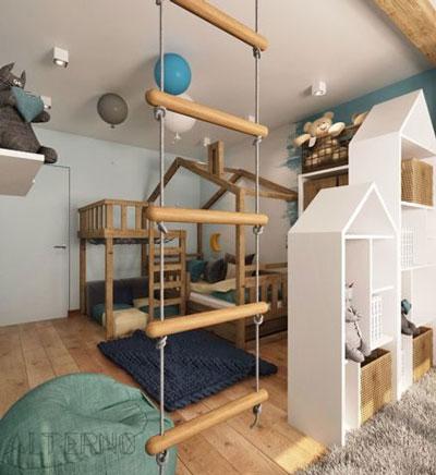 как в однокомнатной квартире сделать детскую зону