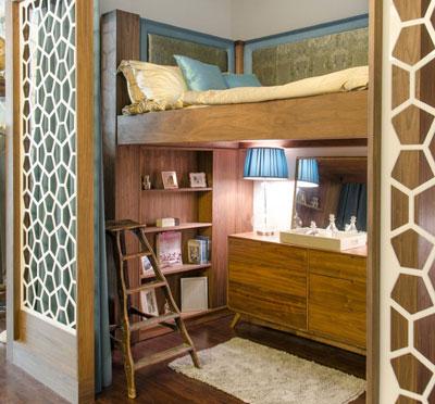 как отделить детскую зону в однокомнатной квартире 4