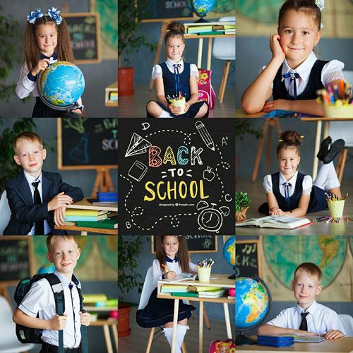 Фотосессия 1 сентября для детей