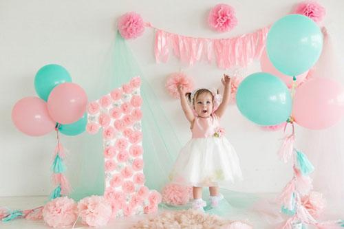 Фотозона на день рождения ребенка 1 год