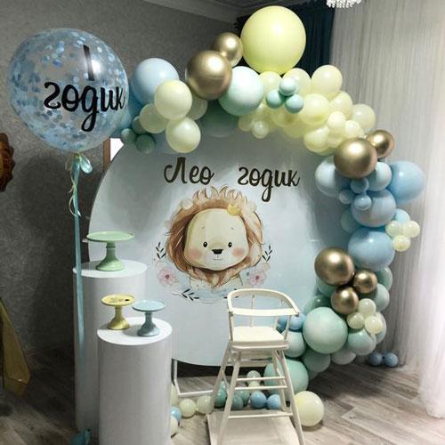 Идеи фото зон для детей на день рождения 1 год