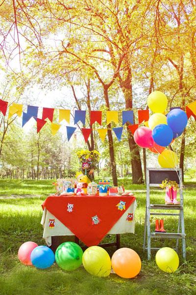 фотозона на день рождения 5 лет ребенка