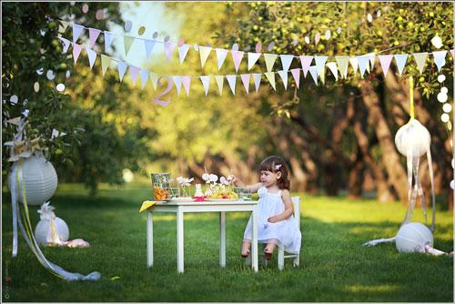 фотозона на природе на день рождения ребенка 2