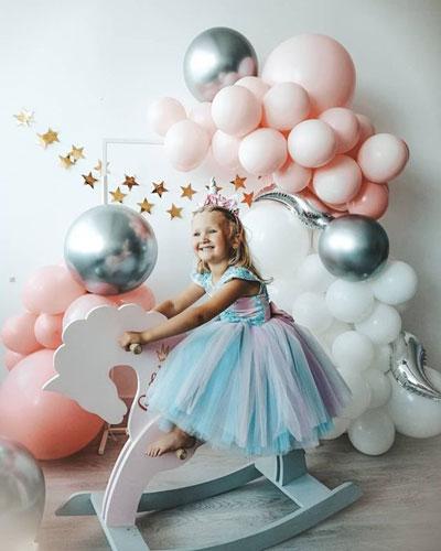 красивая идея для фотозоны на деньрождения ребенка
