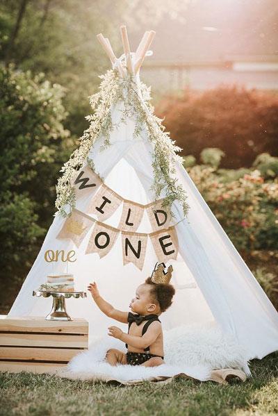 как оформить фотозону на день рождения ребенка