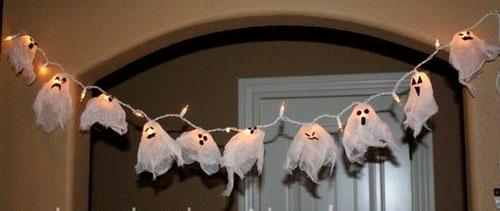 украсить дом на хэллоуин своими руками с помощью гирлянд 8