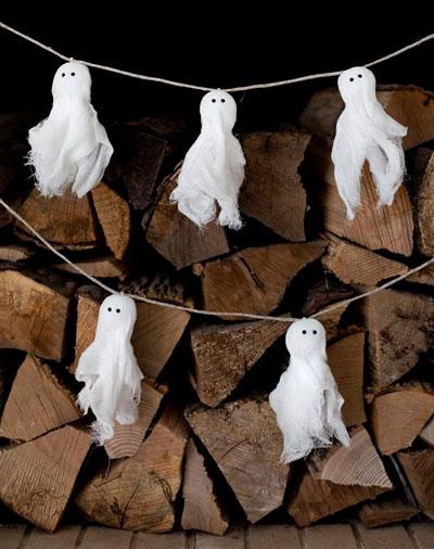 украсить дом на хэллоуин своими руками с помощью гирлянд 2