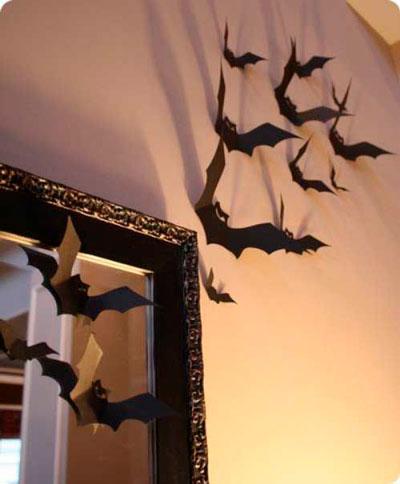 как украсить комнату на хэллоуин своими руками 7