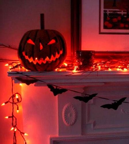 украсить дом на хэллоуин своими руками