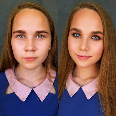 идеи макияжа на 1 сентября 11