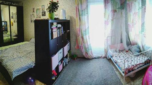детская зона в однокомнатной квартире идеи фото 4