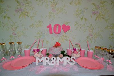 идеи как отметить 10 годовщину свадьбы