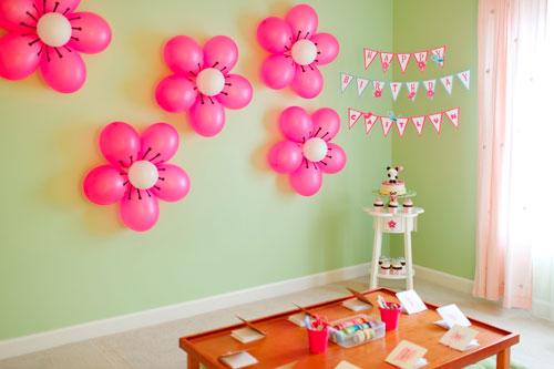 Как украсить комнату на день рождения ребенка 2 год