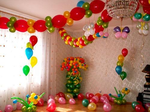 Как украсить комнату на день рождения ребенка 5 лет
