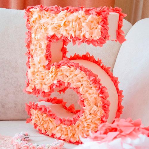 цыфры для украшения комнаты на день рождения ребенка