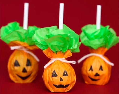 как украсить комнату на хэллоуин своими руками из бумаги