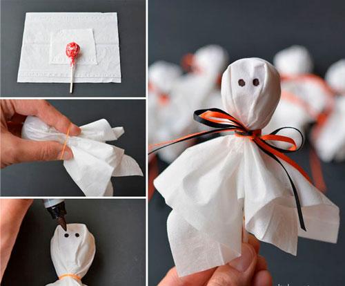 как украсить комнату на хэллоуин своими руками из бумаги 3