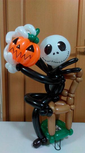 как украсить комнату на хэллоуин своими руками из шаров