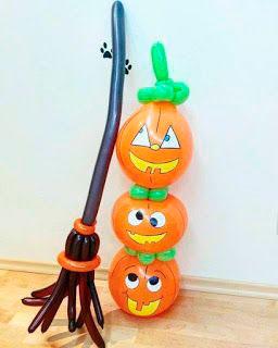как украсить комнату на хэллоуин своими руками из шаров 3