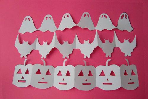 украсить дом на хэллоуин своими руками с помощью гирлянд 3