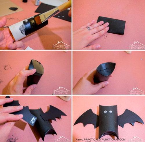 украсить дом на хэллоуин своими руками с помощью гирлянд
