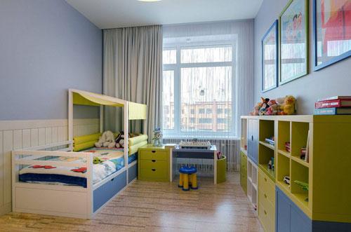 как в однокомнатной квартире сделать детскую зону 4