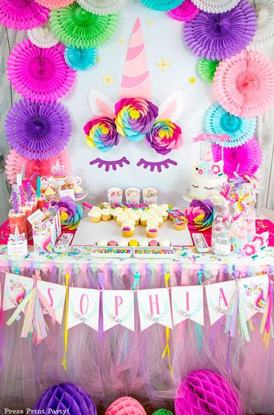 красивое оформление на детский день рождения 7