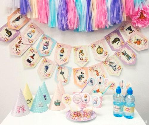 гирлянды для украшения комнаты на день рождения