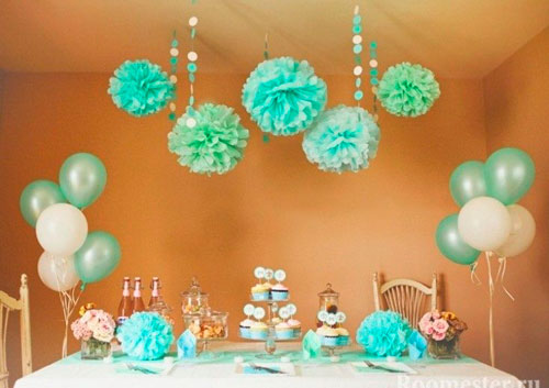 гирлянды для украшения комнаты на день рождения 2