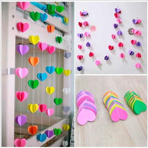 гирлянды для украшения комнаты на деньрождения ребенка