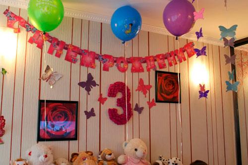 оформление детского дня рождения 2
