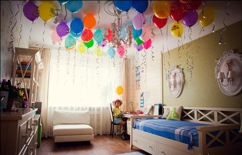 оформление детского дня рождения 5