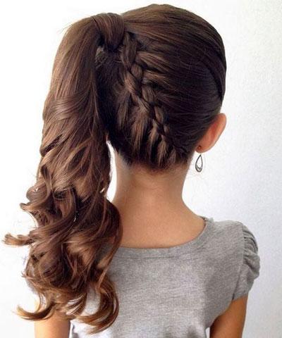 очень красивые прически на 1 сентября длинные волосы