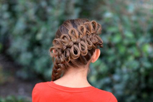 красивые прически на 1 сентября 7 класс длинные волосы