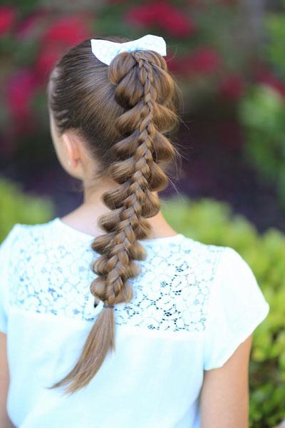 простые красивые прически на 1 сентября длинные волосы