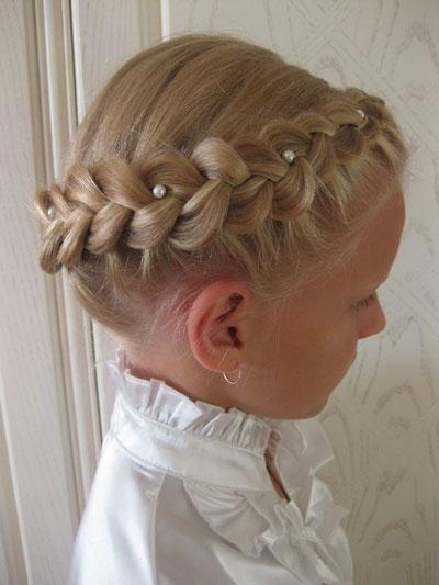 красивые прически на 1 сентября длинные волосы