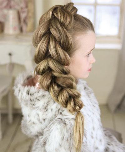 прически косы на 1 сентября длинные волосы