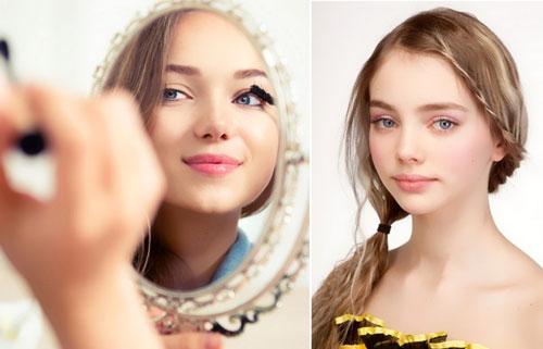 макияж на 1 сентября 7 класс