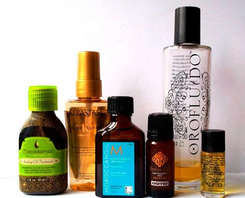 какое масло лучше для волос для восстановления сухих кончиков волос