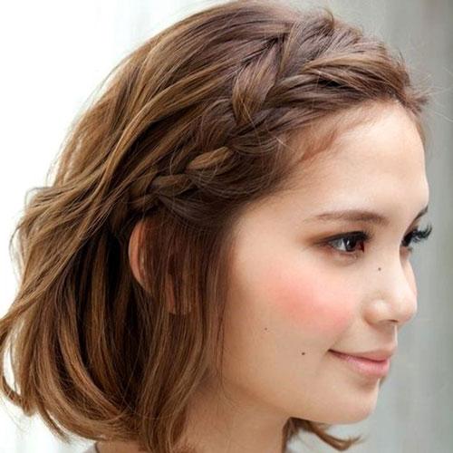 какую прическу сделать на короткие волосы на 1 сентября