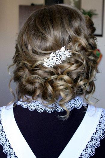 Прическа на 1 сентября 11 класс на короткие волосы