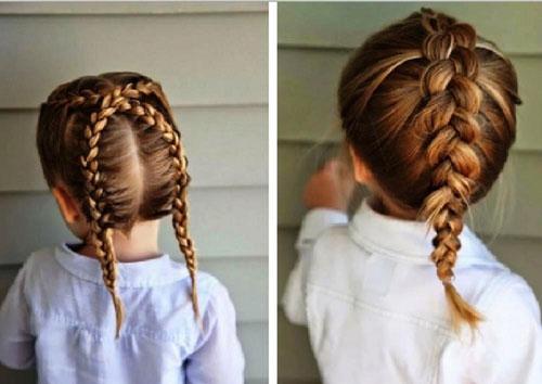 прически на 1 сентября 5 класс короткие волосы