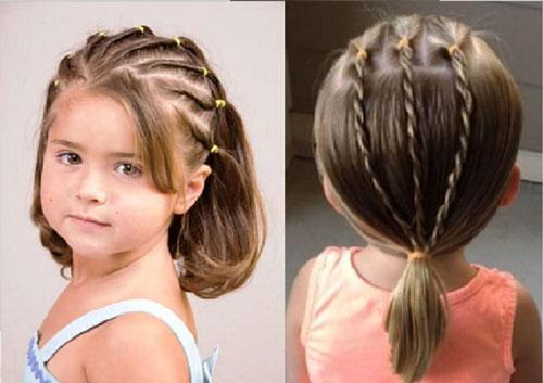 прическа на 1 сентября 6 класс короткие волосы 2