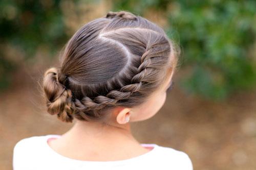 прическа на 1 сентября 6 класс короткие волосы