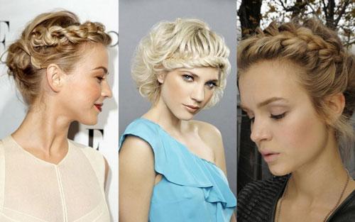 прически на 1 сентября, которые можно сделать на короткие волосы